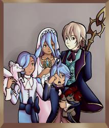 Jakob and Azura Family Portrait