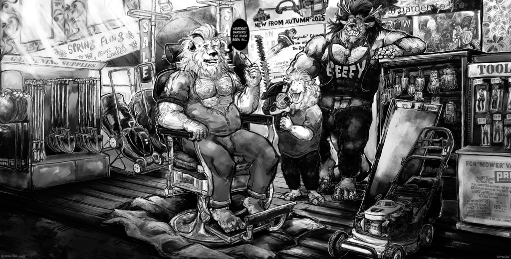 Most recent image: Commission: Barber Q(uestion)