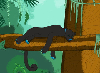 Melanie the Panther.:Gift:.