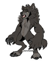 chibi werewolf  Jason