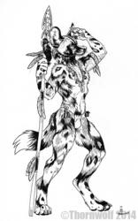 Sketchbook Sketch by Thornwolf