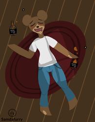 Stag the drunken bear (CM)