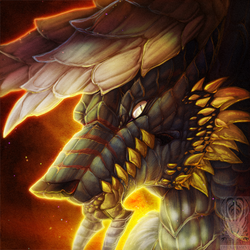 Icon Comish - Glowing-Hot Scales