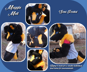 Maggie Mutt Fursuit For Sale!