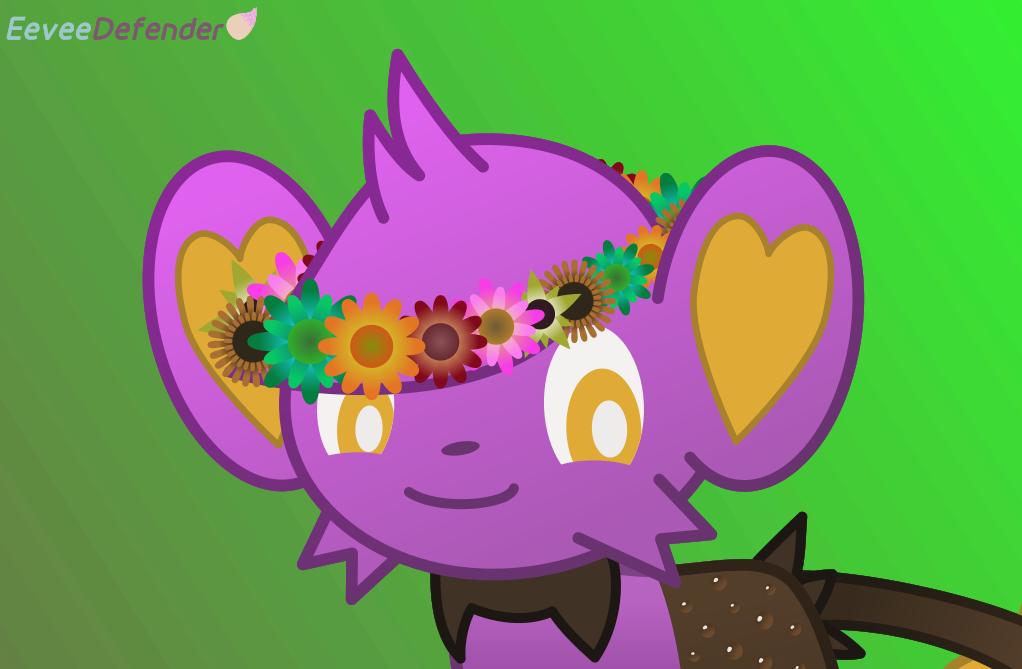 Shinx Flower Crown