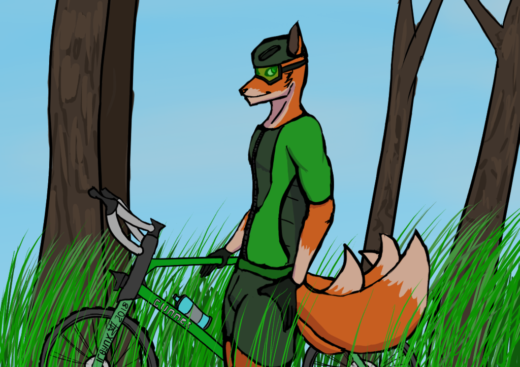 Most recent image: Fox Cyclist