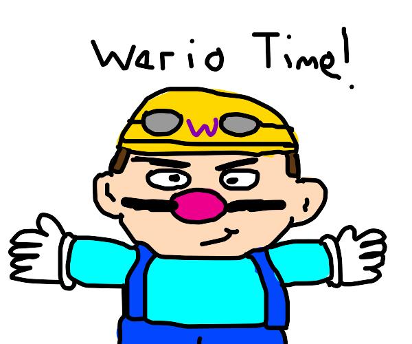 Wario the Biker