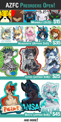 AZFC Preorders!