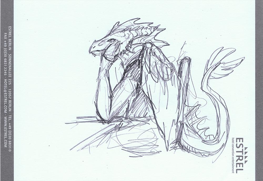 Estrel Sketch - Aku