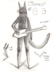 Concept Art for Animation - The Guitarist