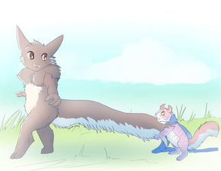 Cat got your tail
