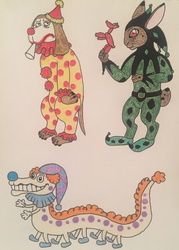 Clown Entertainer Adopts (3/3)