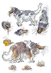 Yokai Dogs