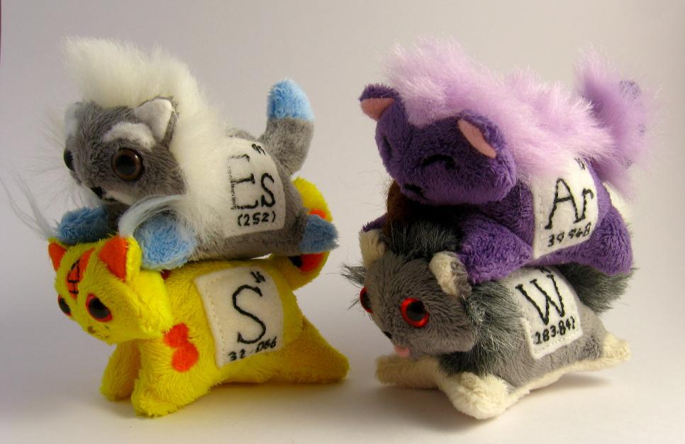 Elemental Cats: Batch 3