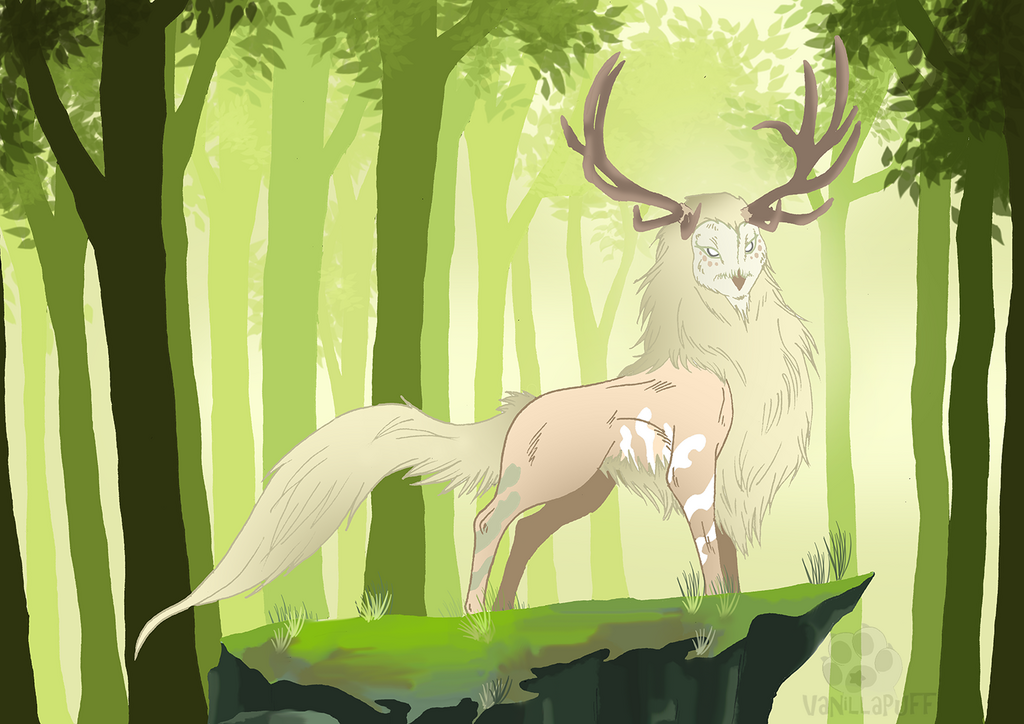 The forest god [Trade]
