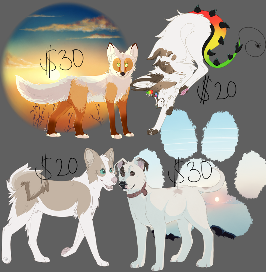 Quick commissions open!