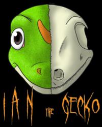 Gift: Half Skull Ian the Gecko