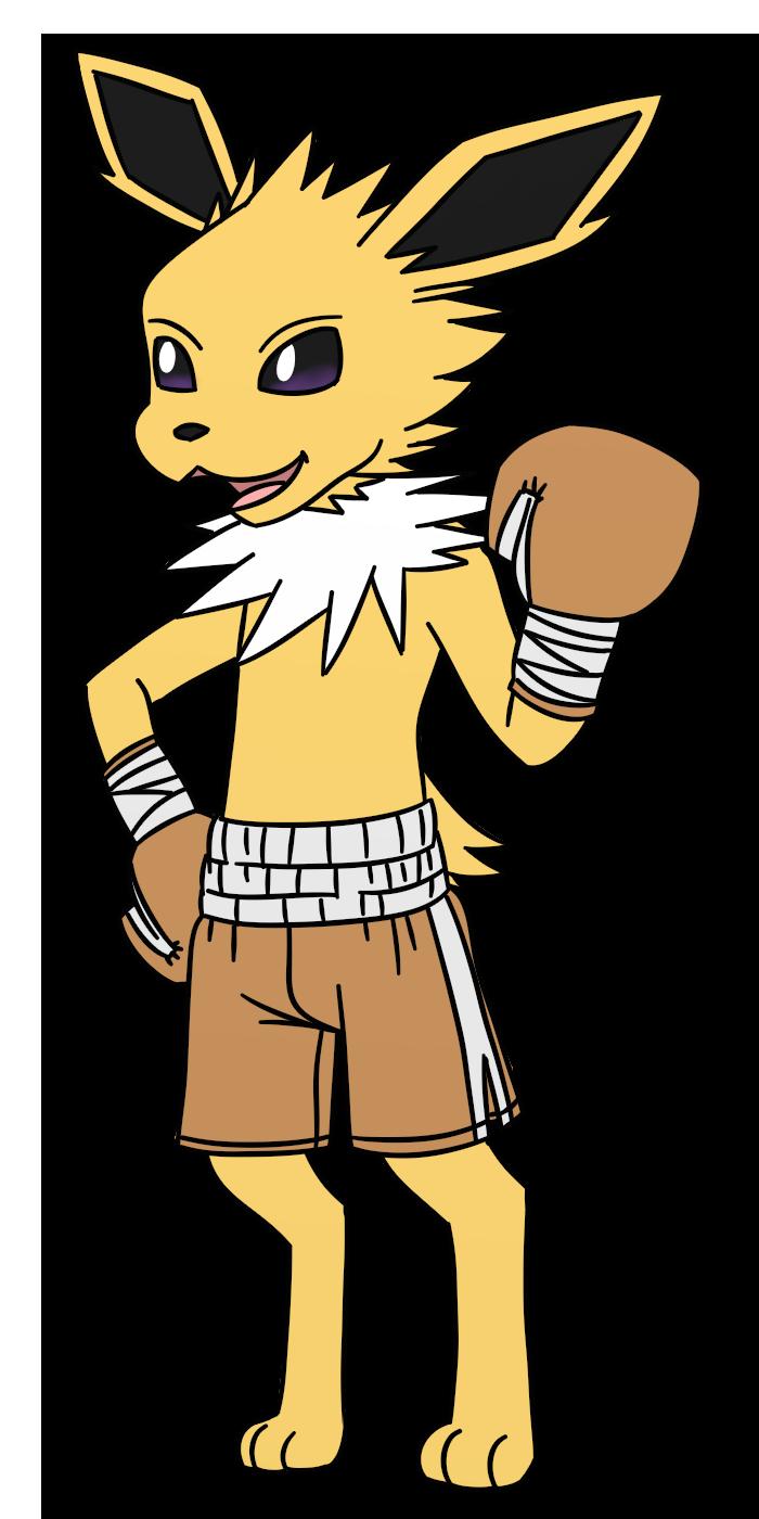 Jolteon Boxing