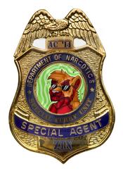 Zin Agent Badge