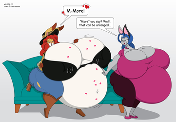 Jessibel and Cassidy: The Bloatening!