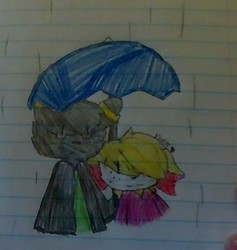 Fenne and Isaac (rainy day)