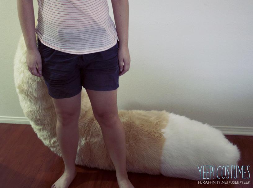 TAILS: Fennec fox tail