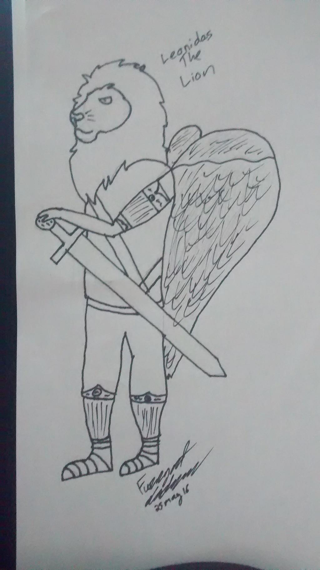 Most recent image: Leonidas The Lion