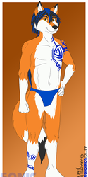 Summer-Themed YCH: Alty's Speedo Showing Off