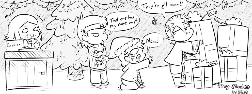 Tiny STories: Christmas with the M.M.O. Gang