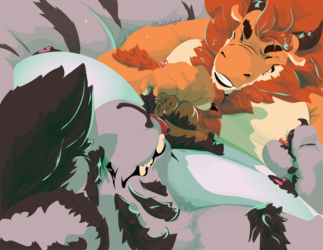 [C] A Bed of Chestfluff