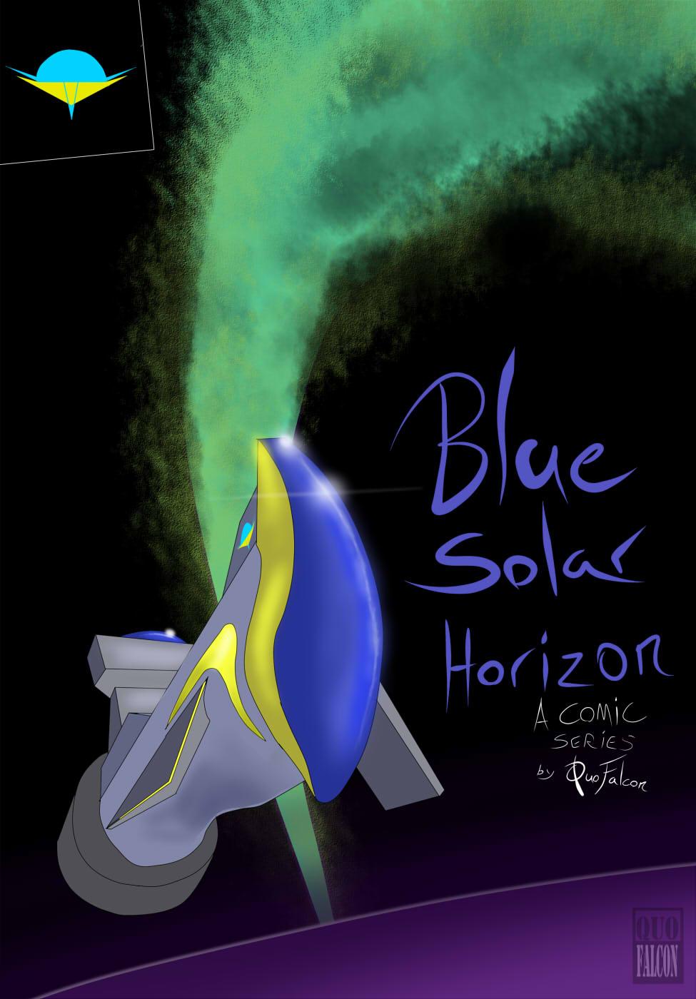 NEW WEBCOMIC: Blue Solar Horizon