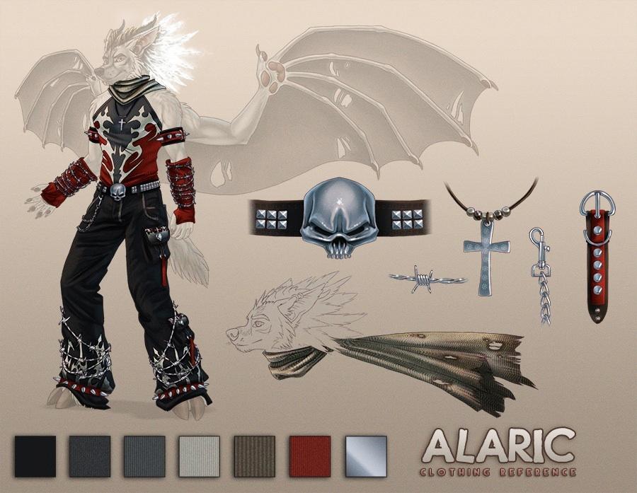 Alaric - Ref Sheet II