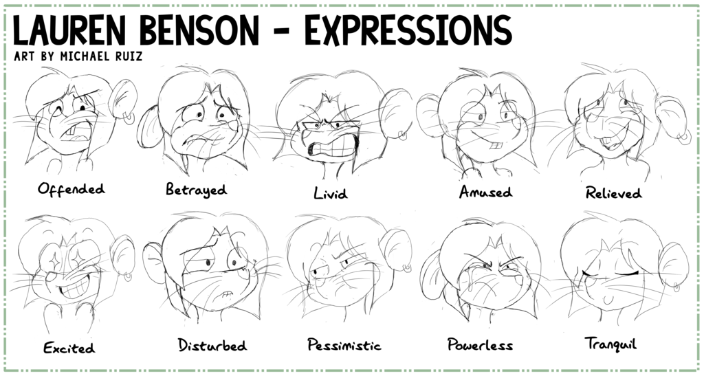 Most recent image: Lauren Benson - Expressions