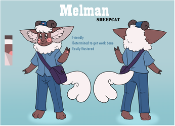 Melman the SheepCat (New Character 74 *Not My Art*)