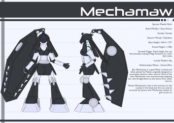 Reference Sheet - Mechamaw