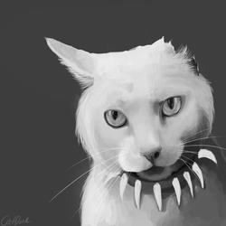 Trash the cat