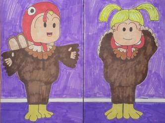 Hug this turkey!