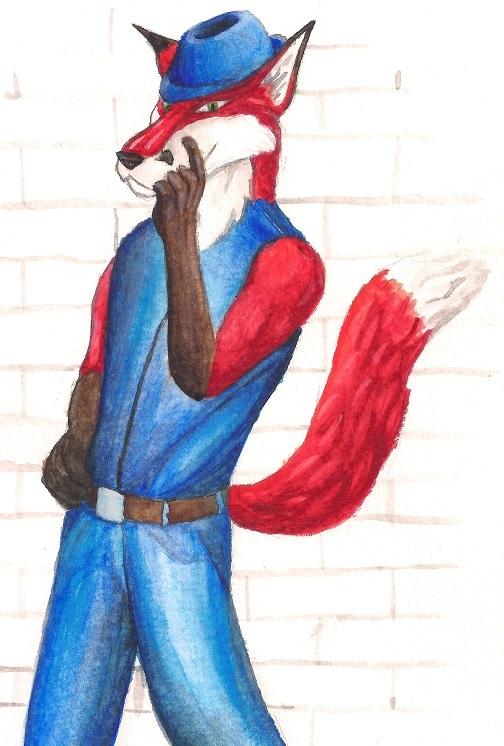An Hipster Fox
