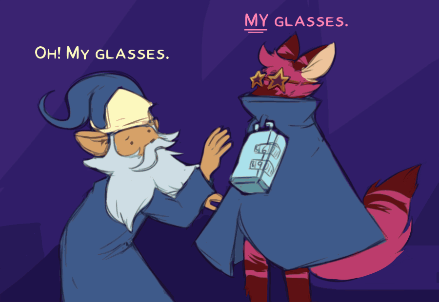 Moment to Glasses