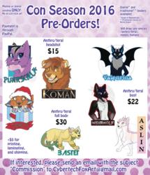 2016 Con Badge Pre Orders
