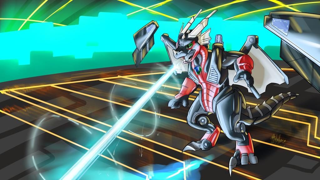 Most recent image: Digital Defender by Adalore