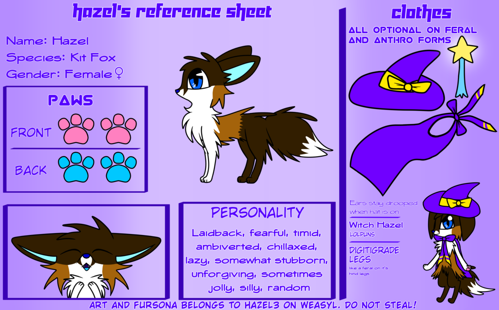 Hazel's Reference Sheet [Outdated]