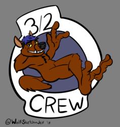 3/2 crew alternate soles