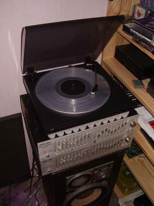 Vinyl fun... or is it ?