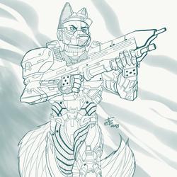 Master Chief Aaron Fox