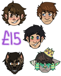 Sticker Style Commissions