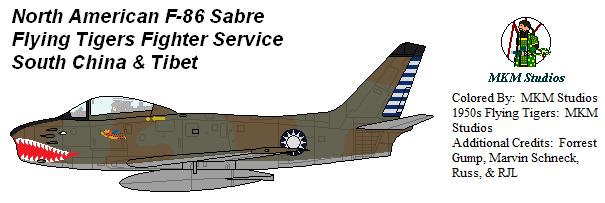 Flying Tiger Sabre