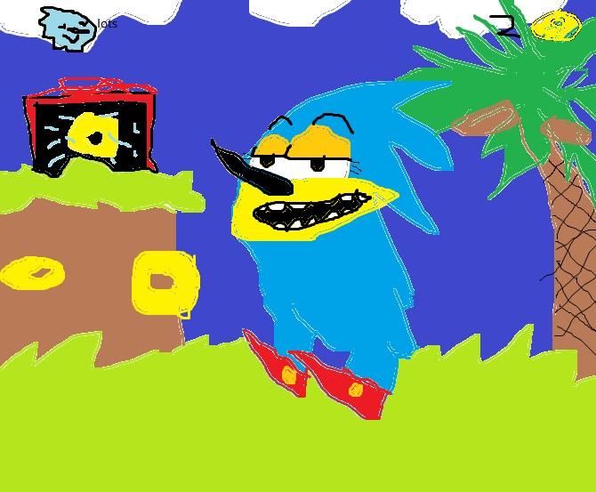 Sonic Screengrab