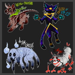 Creepy Adopts [AUCTION CLOSED]