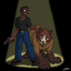 Brian the bear wildtouched